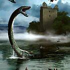 Loch Ness Monster by alextomlinson