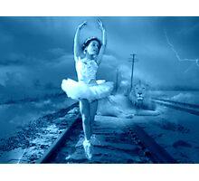 Heavenly Lion -blue Photographic Print