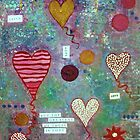 Balloon hearts by Suzanne  Carter