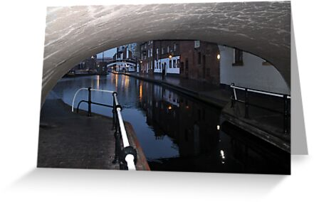 Under the Canal Bridge, Birmingham by Jane McDougall