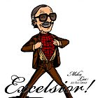 Excelsior! by Michael Lee