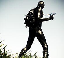 Ray Gun Zentai 2012 Set II Pic 05 by mdkgraphics