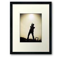 Ray Gun Zentai 2012 Set II Pic 07 Framed Print