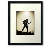 Ray Gun Zentai 2012 Set II Pic 08 Framed Print