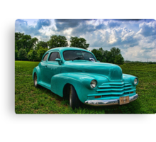 1948 Chevrolet Custom Street Rod Canvas Print