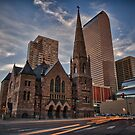 Trinity Methodist surrounded by Denver by Adam Northam
