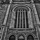 St. John&#x27;s Cathedral B/W by Adam Northam