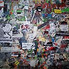 wall of CBGB in NYC by mickmuise