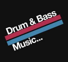 Drum & Bass F2 (dark) by DropBass