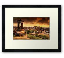 Edinburgh (Please View Larger) Framed Print