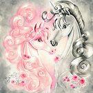 Unicorn Kiss by AngelArtiste