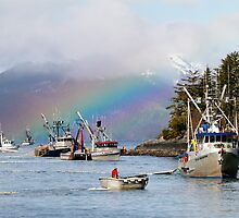 Opening Day-Sitka Sac Roe Herring Fishery by Gina Ruttle  (Whalegeek)