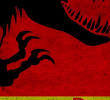 Unofficial Jurassic Park Movie Poster Sticker