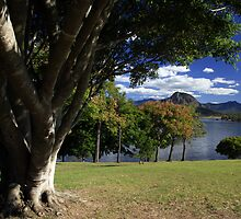 Lake Moogerah Queensland by Noel Elliot