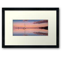 A Piece of Tranquility Shornecliffe Brisbane Framed Print