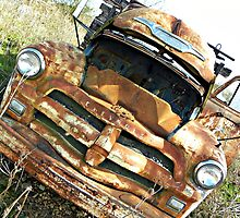 1954 Chevy 4400  by Tisha Clinkenbeard