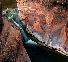 Waterfall On Quail Creek by Bob Christopher