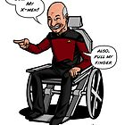 Professor Picard by Michael Lee