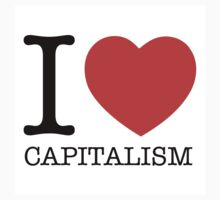 I Love Capitalism (Sticker) by anarchei