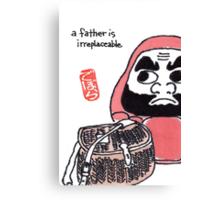 The Angler (Daruma Doll Series) Canvas Print