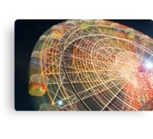 Luna Park Sydney ferris wheel Canvas Print