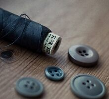 Buttons and Thread by Paisleypatches