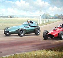 Vanwall victory. by Mike Jeffries