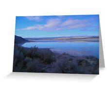 Landscape at Abert Rim, Oregon Greeting Card