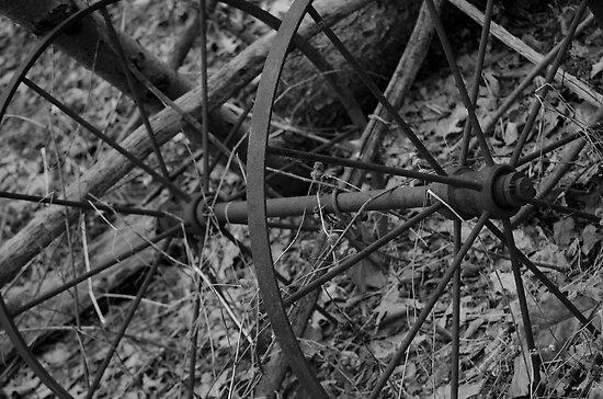 B&W wheel by AmbientPhotos