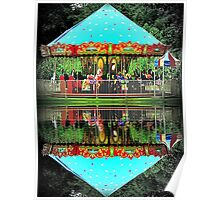 Carousel Reflections Poster