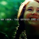 Katniss' efect by peetalover