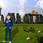 Trouble at Stonehenge by IsaacG