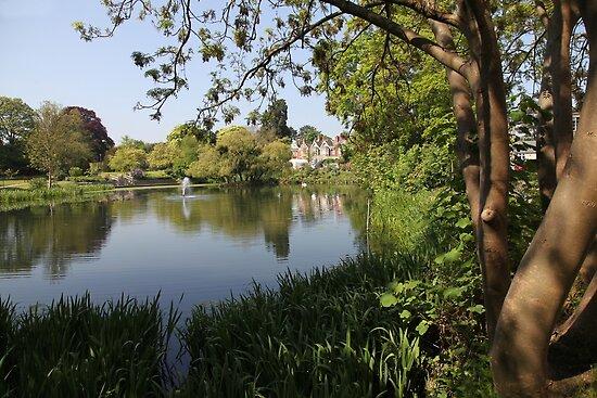 Bletchley Park Lakeview by John Dalkin