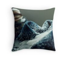 Frozen Sock Throw Pillow