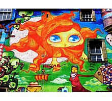 Kelburn Castle Graffiti Photographic Print