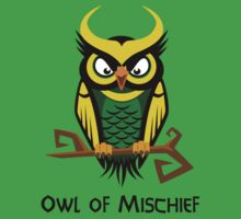Owl of Mischief by sirwatson