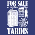 For Sale Tardis by bomdesignz