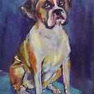 Boxer Boy by christine purtle