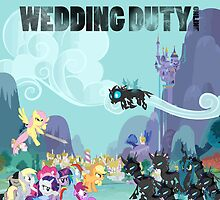 wedding duty mlp fim by FoxyShaddow