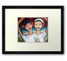 Idyllic Paradise Framed Print