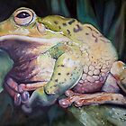 One fat frog by Natasha Hodgson
