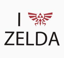 I Love Zelda by nowtfancy
