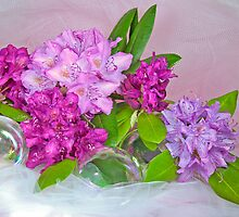 Bubbling Blossoms by Maria Dryfhout