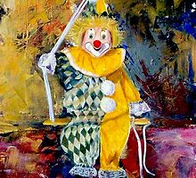The Invisible Tears of the Clown by Kasia B. Turajczyk