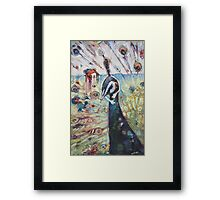 The Symbolic Embrace Framed Print