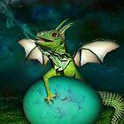 Baby Dragon by Elizabeth Burton