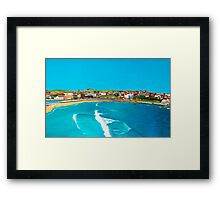 Sydney 2000 - Olympic Torch Landing by Sea - Panel 2 Framed Print