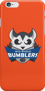 The Mid-World Bumblers (+ iPhone case) by Jonze2012