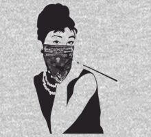 Gangster Audrey Hepburn | TSHIRT by inspctrspactime