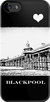 North Pier Blackpool by inkedsandra